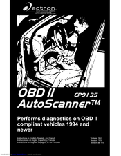 actron obd scanner model cp9135
