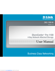 D-Link DNS-1100-04 Product Manual