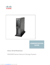 Cisco NSS2000 Series Administration Manual