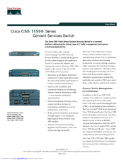 Cisco CSS5-IOM-2GE Manuals