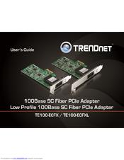 TRENDnet TE100-ECFX Network Adapter Drivers for Mac