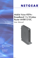 NETGEAR MVBR1210C USER MANUAL Pdf Download