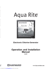 Hayward Aqua Rite 174 Manuals border=
